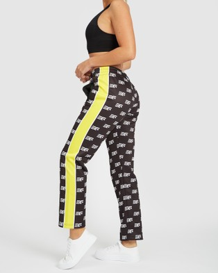 EN GARDE Apparel EG Edition Trainer Joggers - Track Pants (Black and Yellow)