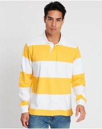 Gap - LS Heavyweight Rugby Polo
