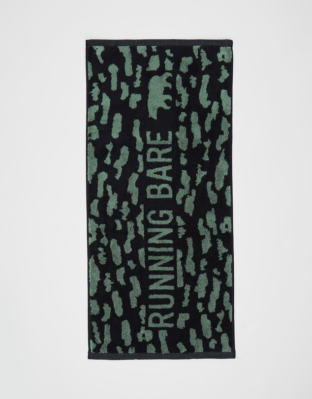 Running Bare - It's A Jungle Out There Gym Towel