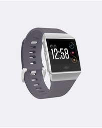 Fitbit - Fitbit Ionic Watch Blue/White