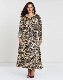 Atmos&Here Curvy - ICONIC EXCLUSIVE - Lyndal Shirt Dress