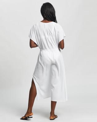 JETS Affinity Maxi Kaftan - Swimwear (White)
