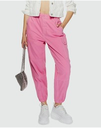 TOPSHOP - Cuffed Tommy Trousers