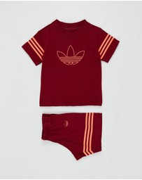 adidas Originals - Outline Tee Set - Babies