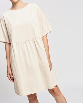 Assembly Label Cord Drawn Dress - Dresses (Ivory)