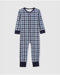 Milky - Check Sleep Onesie - Kids
