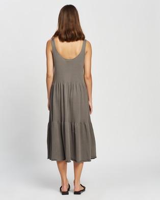 Assembly Label Odessa Knit Dress - Dresses (Sable)