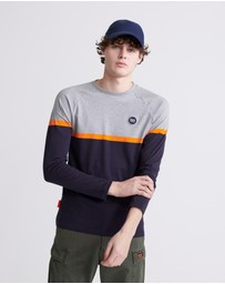Superdry - Collective Colour Block Long Sleeve Top