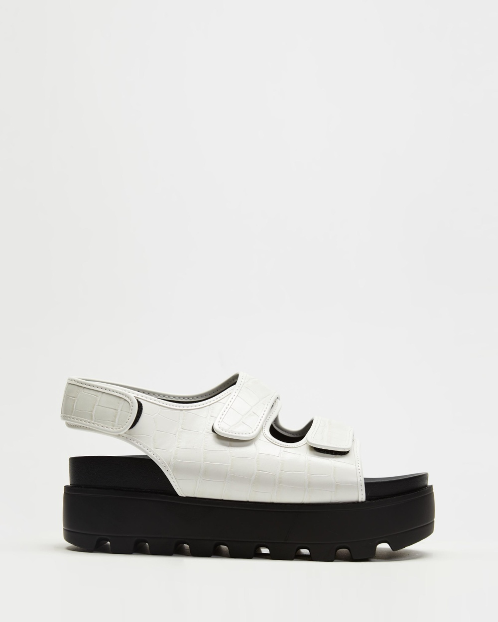 4th & Reckless Hugo Sandals White