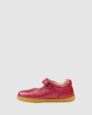 Bobux - I Walk Delight II Mary Janes Flats (Cherry Shimmer) I-Walk