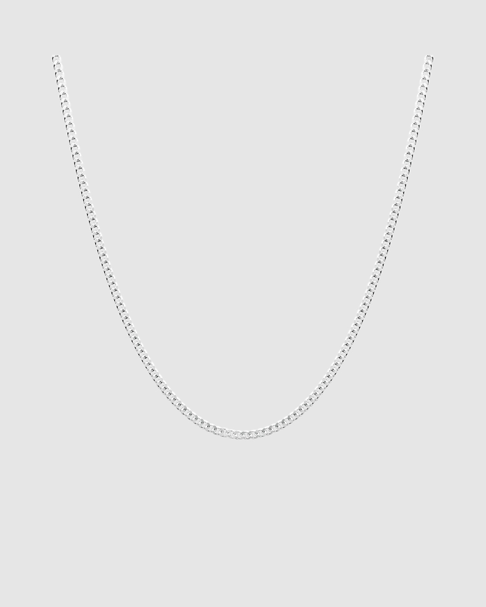 Michael Hill 60cm Curb Chain in 925 Sterling Silver Jewellery Silver