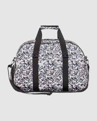 Roxy Feel Happy 35L Medium Sports Duffle Bag - Duffle Bags (ANTHRACITE MALO S)