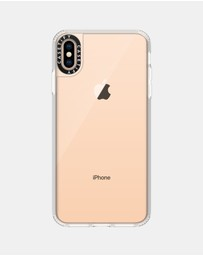 Casetify - Classic Grip Clear Case for iPhone XS Max – Frost