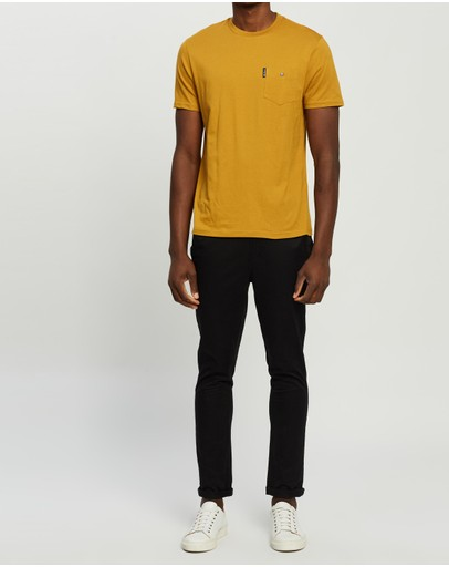Ben Sherman Signature Pocket Tee Dijon