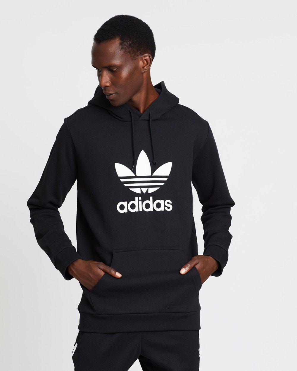 best deals on newest collection shop Trefoil Hoodie - Men's by adidas Originals Online | THE ICONIC ...