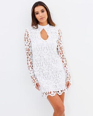 Ministry of Style – Dentelle Mini Dress – Dresses (Ivory)