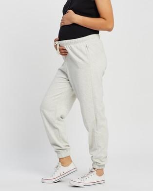 TOPSHOP Maternity Maternity '90s Oversized Joggers - Sweatpants (Grey Marle)