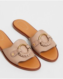 See By Chloé - Flat Leather Sandals