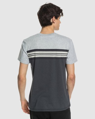 Quiksilver Mens Holy Kiss Pocket T Shirt - T-Shirts & Singlets (HOLY KISS TARMAC)