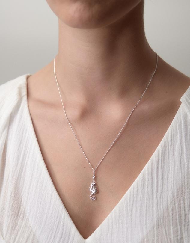 Women Seahorse Necklace