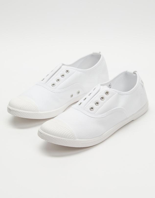 Women Euro Canvas Plimsole Sneakers