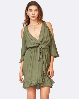 Times Ten – Margarita Dress KHAKI