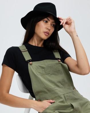Brixton Wesley Fedora - Hats (Black)