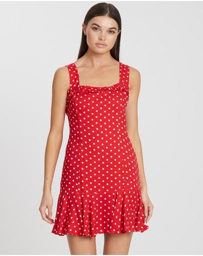 Tussah Cybele Mini Dress Red Base Spot