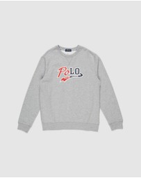 Polo Ralph Lauren - Long Sleeve Knit Crew Top - Teens