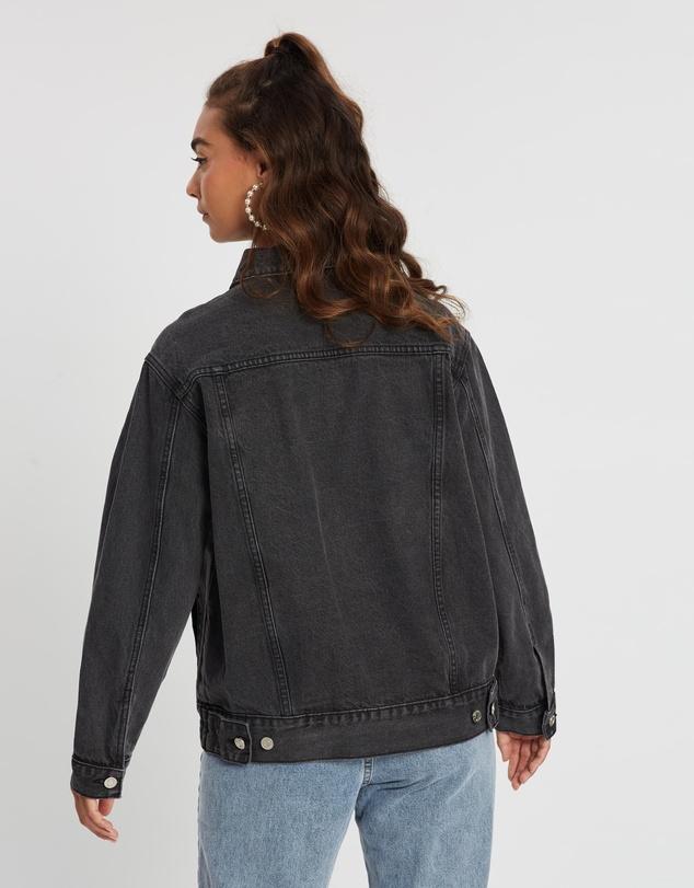 Women Oversized Denim Jacket