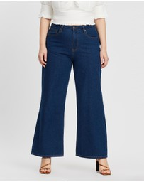 Mika Muse - Winnie High-Waisted Wide Leg Jeans