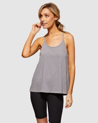 dk active - Explorer Tank Muscle Tops (Charcoal White)