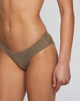 BONDI BORN Nadia Bikini Bottoms - Bikini Bottoms (Taupe)