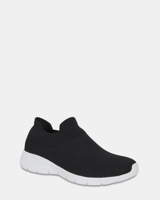 Sandler Woods - Slip-On Sneakers (BLACK)