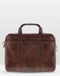 Cobb & Co - Kemp Leather Laptop Bag