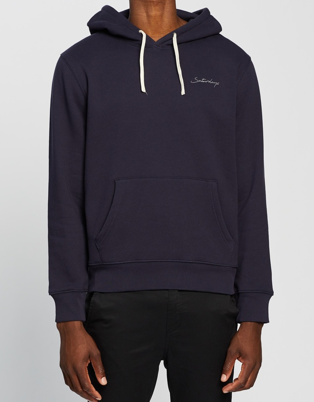 Saturdays NYC - Ditch Saturdays Embroidered Hoodie