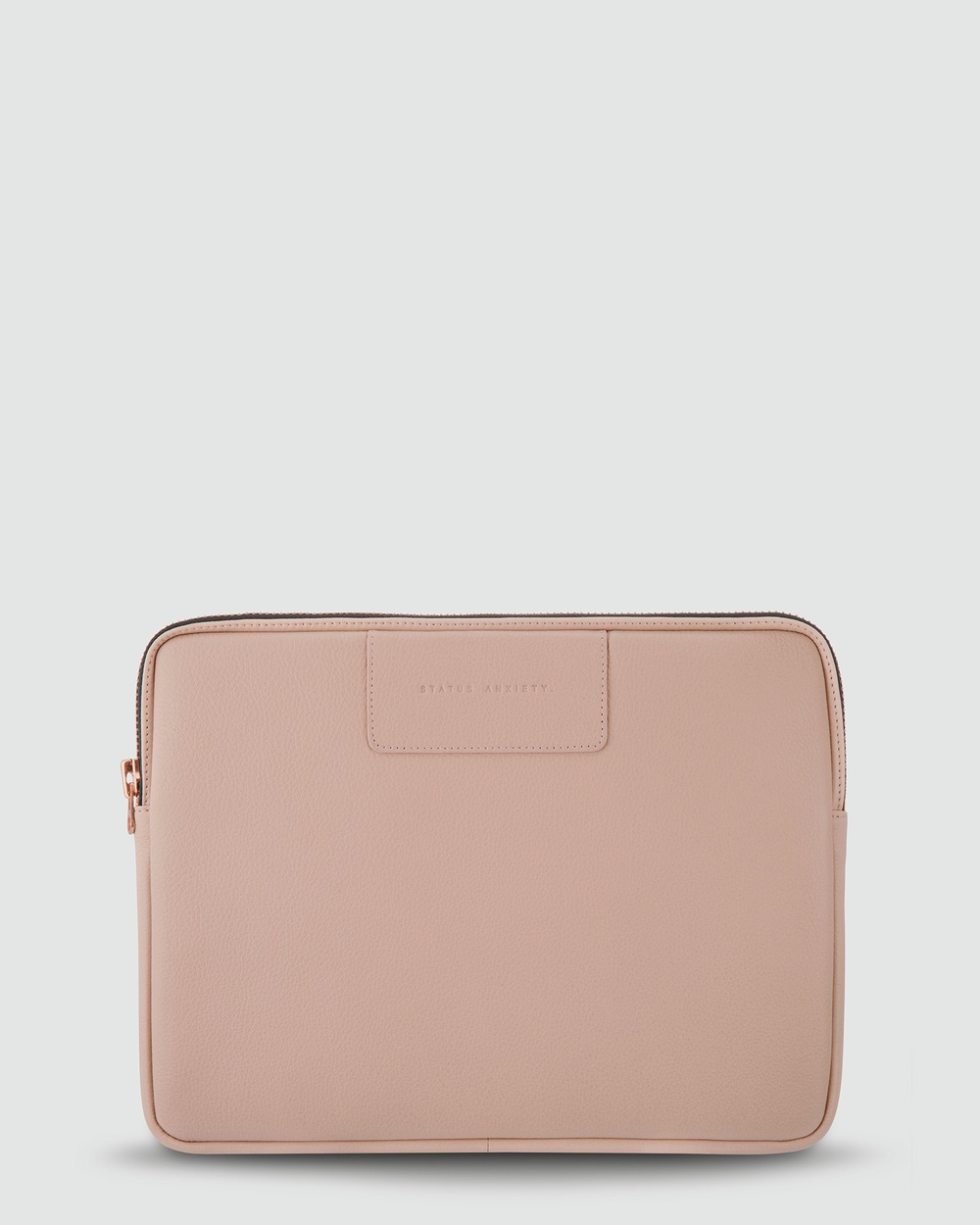 Status Anxiety Before I Leave Laptop Case Tech Accessories Dusty Pink