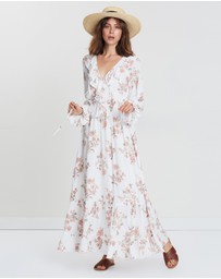 Wilde Willow - Enlighten Floral Maxi Dress