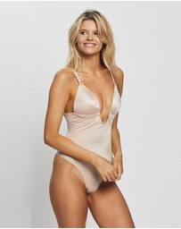 Spanx - Suit Your Fancy Plunge Low-Back Thong Bodysuit