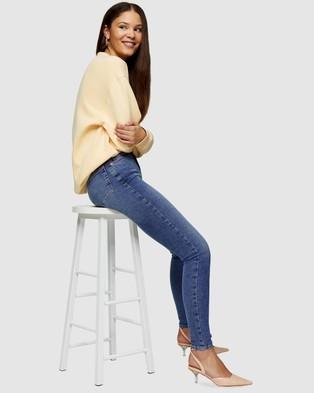 TOPSHOP Jamie Jeans - Jeans (Mid Denim)