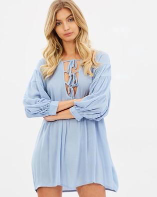 Girl & The Sun – Cyrus Dress Blue