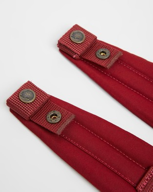 Fjallraven Kanken Shoulder Pads - Accessories (Ox Red)