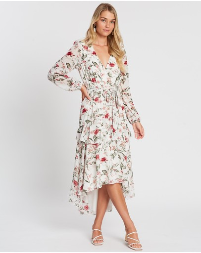 Atmos&Here - Larissa Ruffle Midi Dress