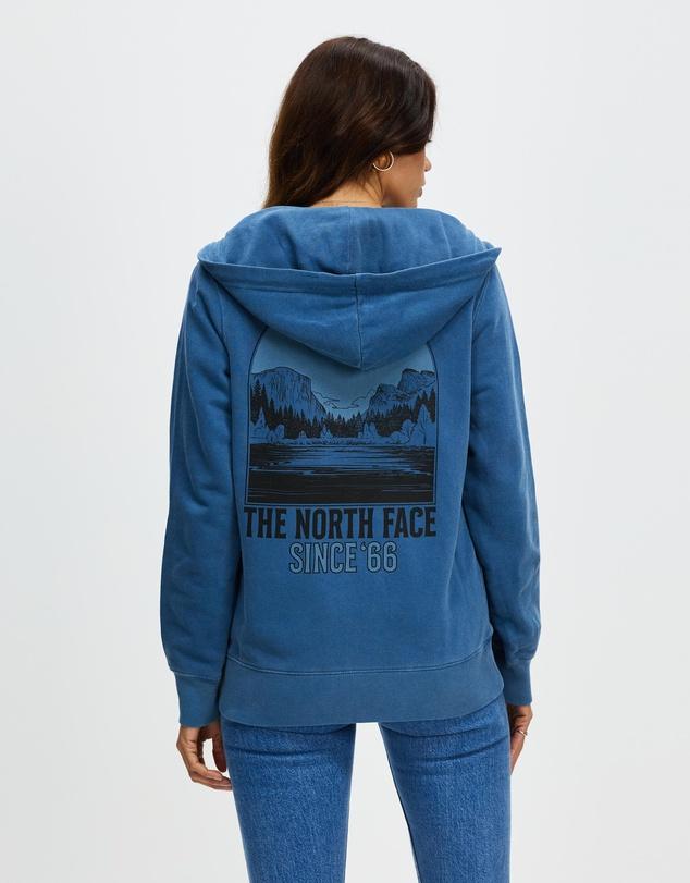 Women Mountain Peace Full Zip Hoodie