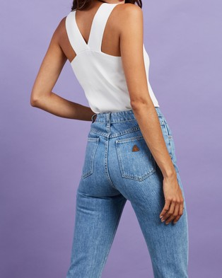 Abrand A '94 High Slim Jeans - Slim (Floretta)