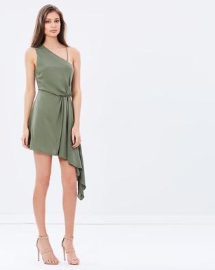 Keepsake the Label – Without You Mini Dress – Dresses (Olive)