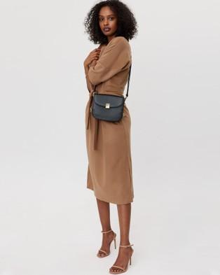 Saben Blaise Cross body Leather Handbag - Clutches (black)