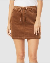 French Connection - Cord Stretch Casual Skirt