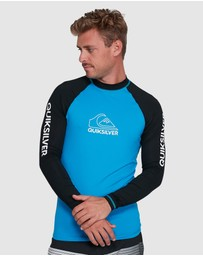 Quiksilver - Mens On Tour Long Sleeve UPF 50 Rash Vest