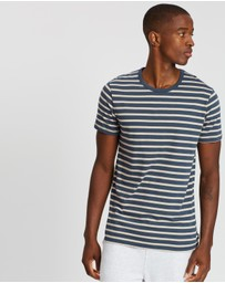 Bonds - Essentials Stripe Crew Tee